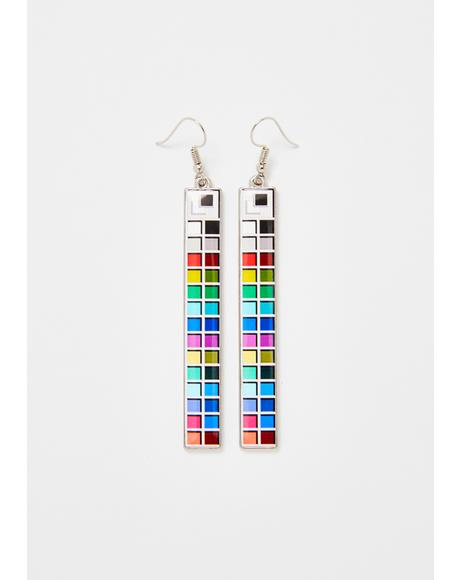 Meltdown Drop Earrings