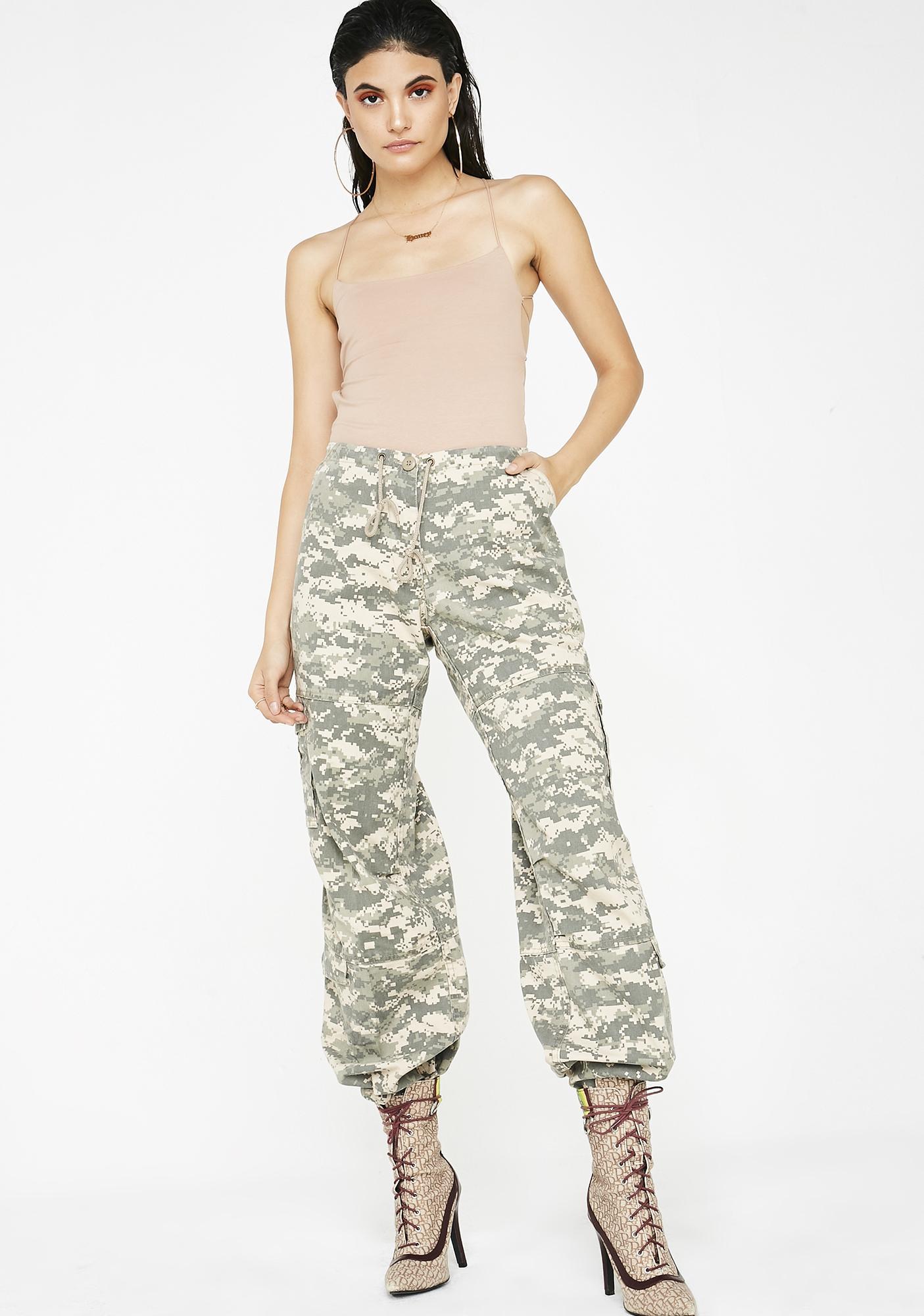 Digital Battle Cargo Pants
