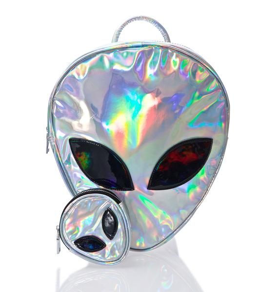 Disturbia Alien Coin Purse