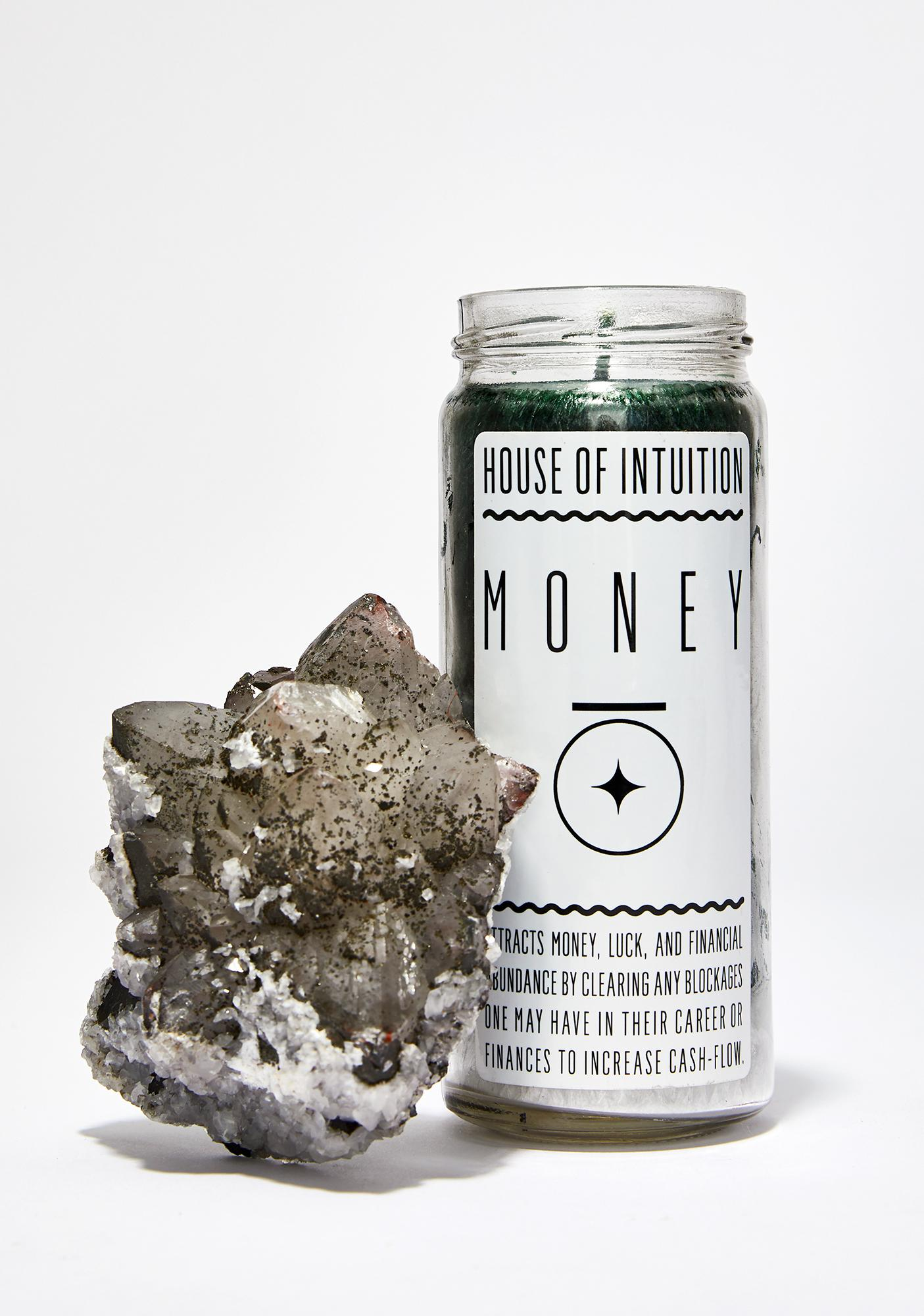 House Of Intuition Money Magic Candle