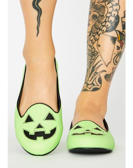 Lydiua Jack Glow In The Dark Flats