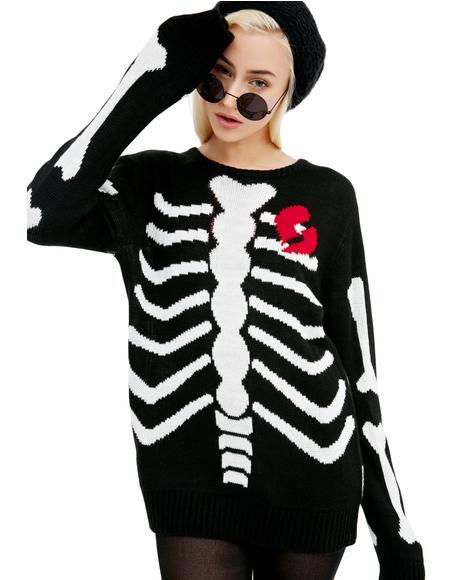 Lovely Bones Sweater