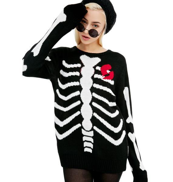 Current Mood Lovely Bones Sweater