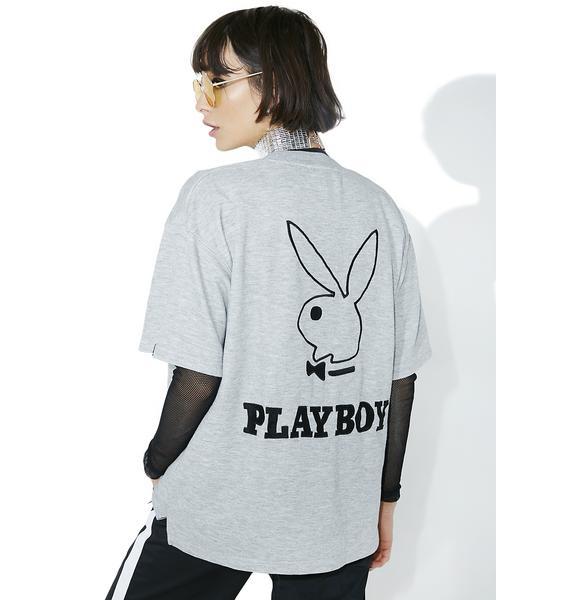 Vintage Playboy Logo Heather Tee