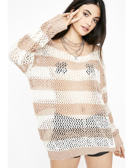 The Best Time Striped Sweater