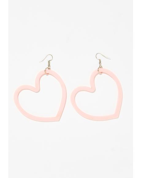 Lova Lova Heart Earrings