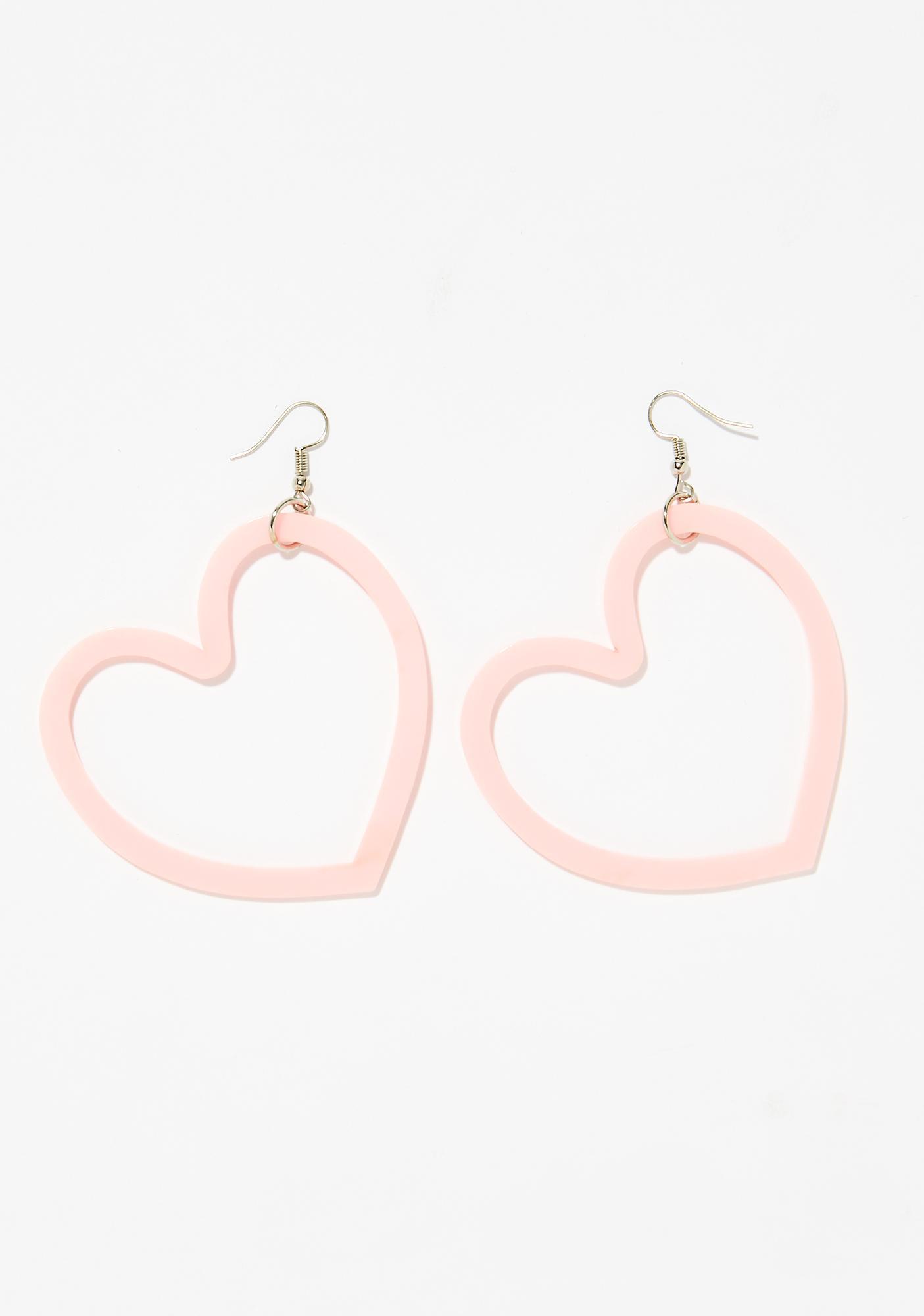 Lova Lova Heart Earrings