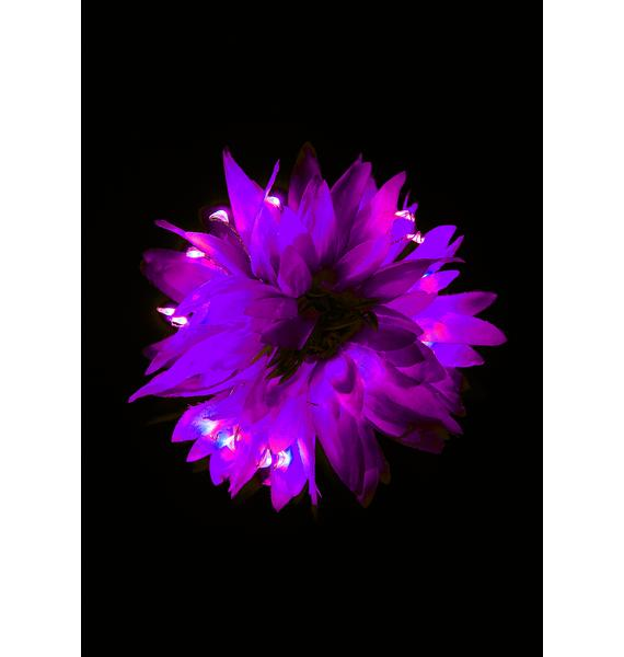 Little Light Lab Glowing Dahlia Light Up Hair Flower