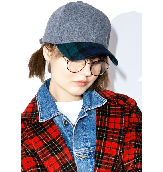 Nightbreak Plaid Dad Hat