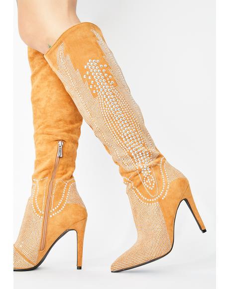 Posh Priorities Knee High Boots