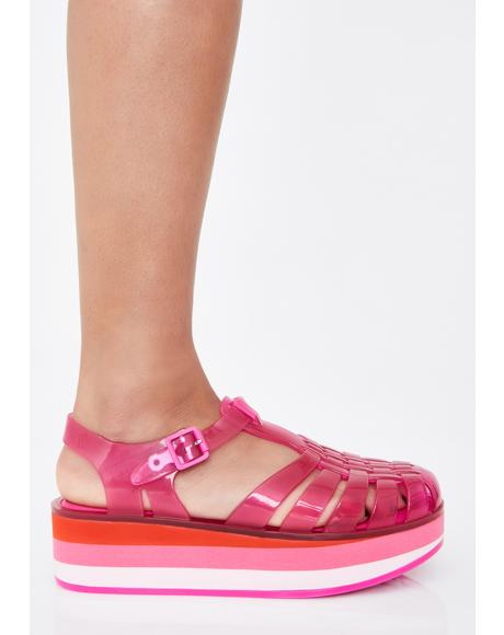 Lollipop Possession Jelly Sandals