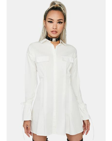 Candid Shot Shirt Dress