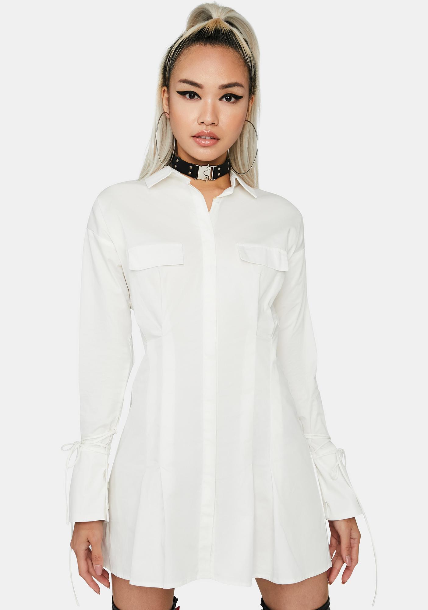 Candid Shot Shirt Dress