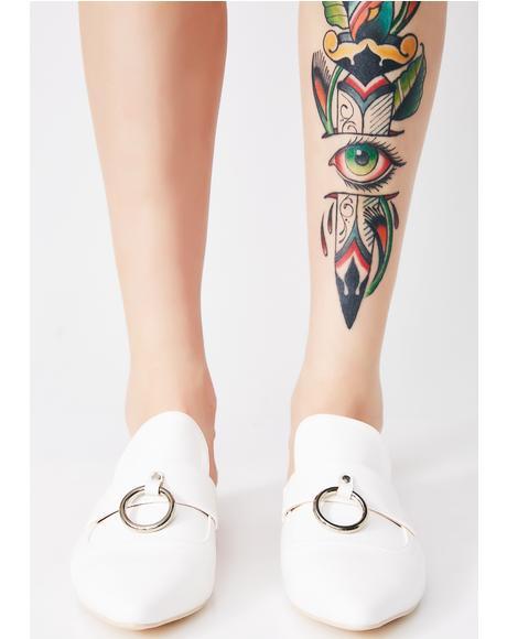 Ring Toss Slippers