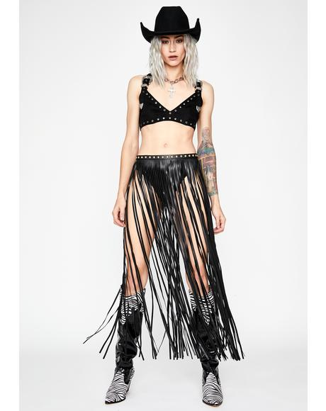 Rodeo Remix Fringe Belt