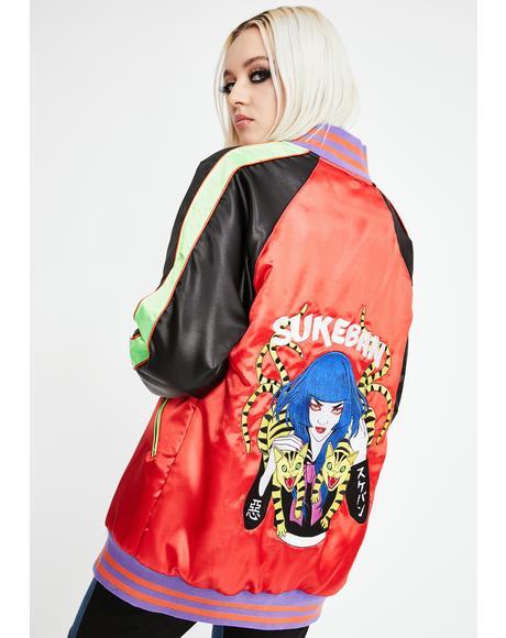 Sukeban Sukajan Bomber Jacket