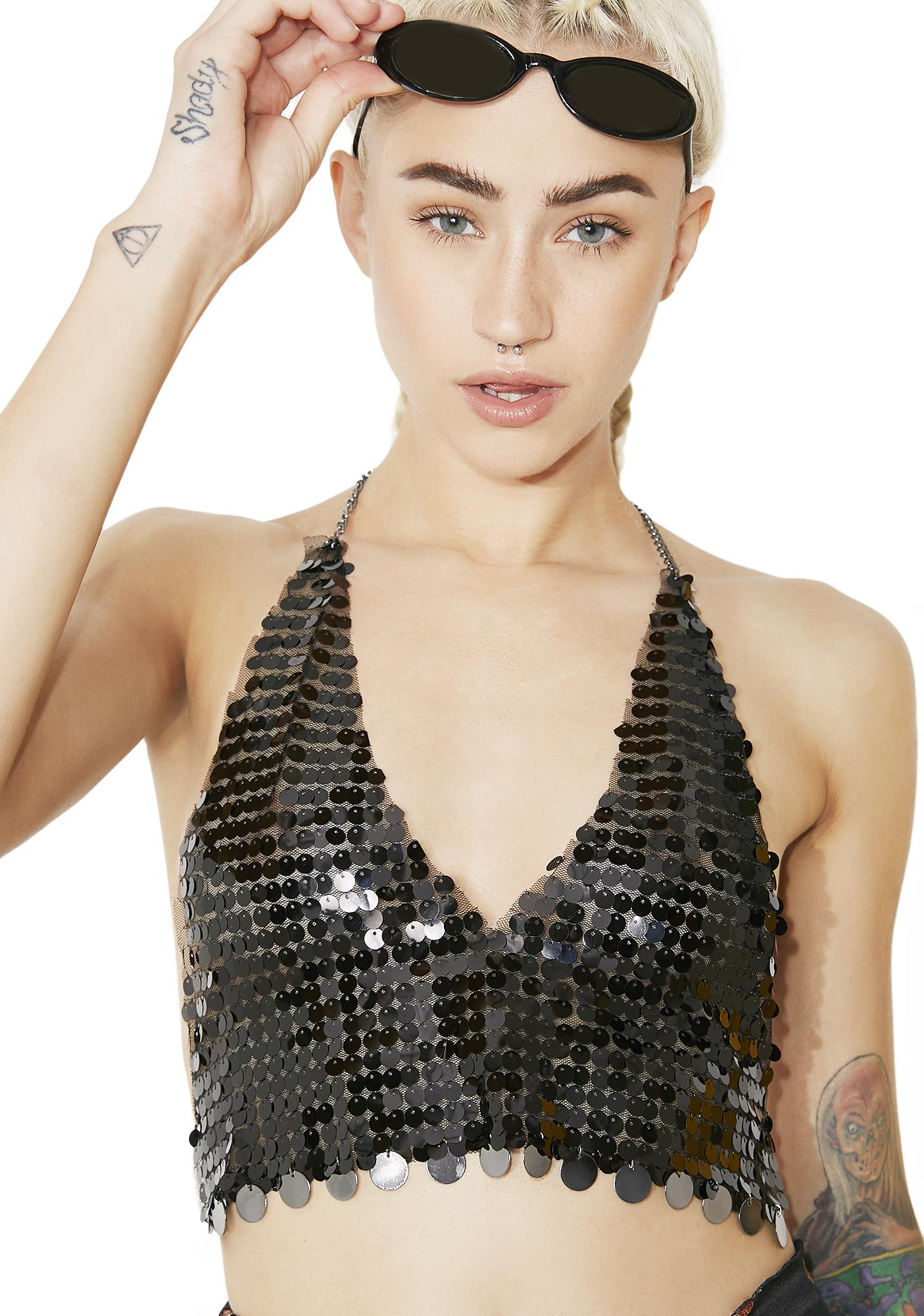 Star Of The Show Sequin Top