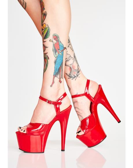 Scarlett Kat Stacks Adore Platform Heels