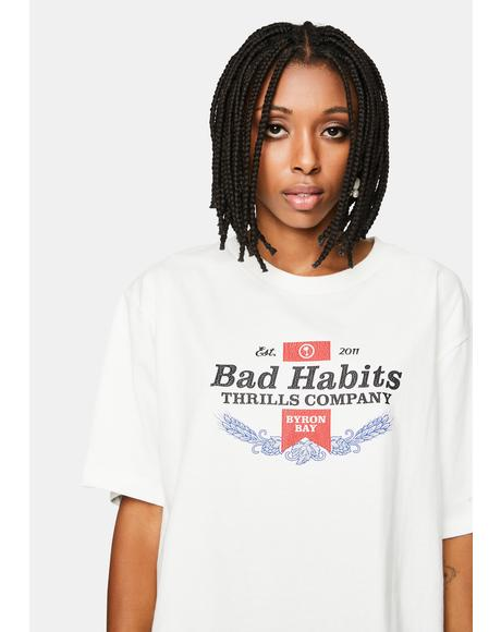 Bad Habits Graphic Tee