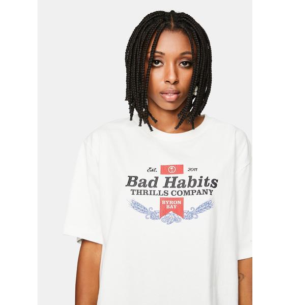 THRILLS Bad Habits Graphic Tee