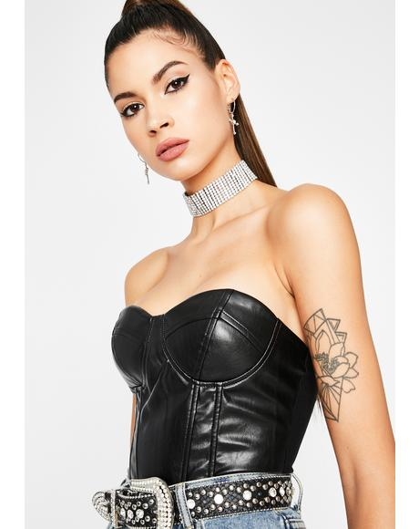 Rev My Engine Bustier Top