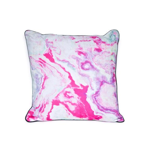 Pillows & Fibers Swirl Around Pillow