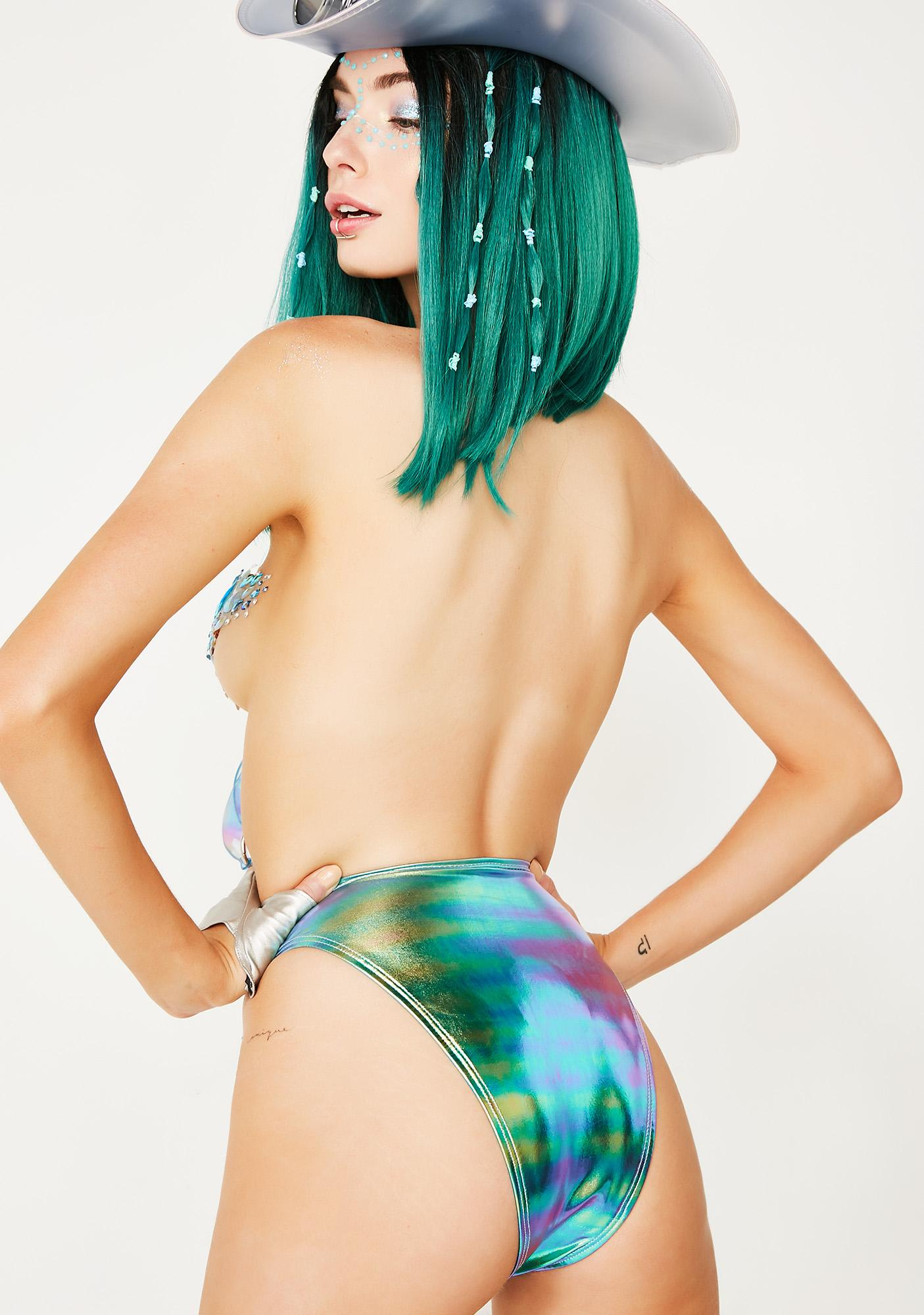 J Valentine Cosmic Baddie Lace-Up Bottoms