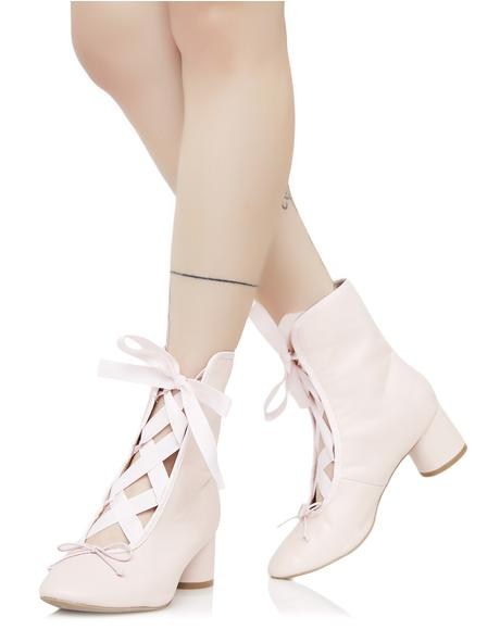 Pirouette Lace-Up Boots