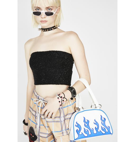 American Deadstock Fuzzy Logic Tube Top