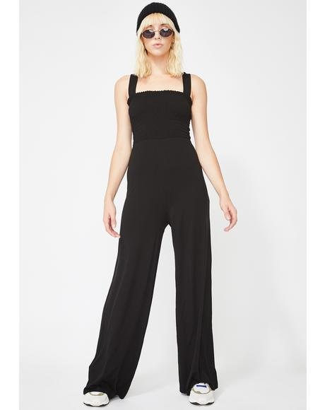 Miss Mannered Wide Leg Jumpsuit