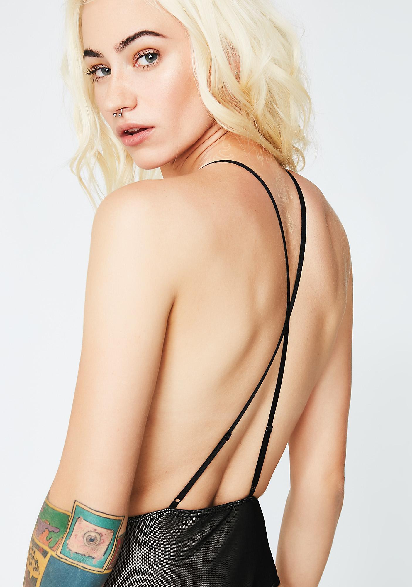 Lure 'Em In Open Back Bodysuit