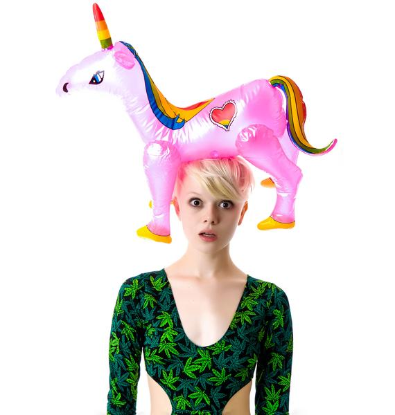 Horny Lil Unicorn Inflatable Toy