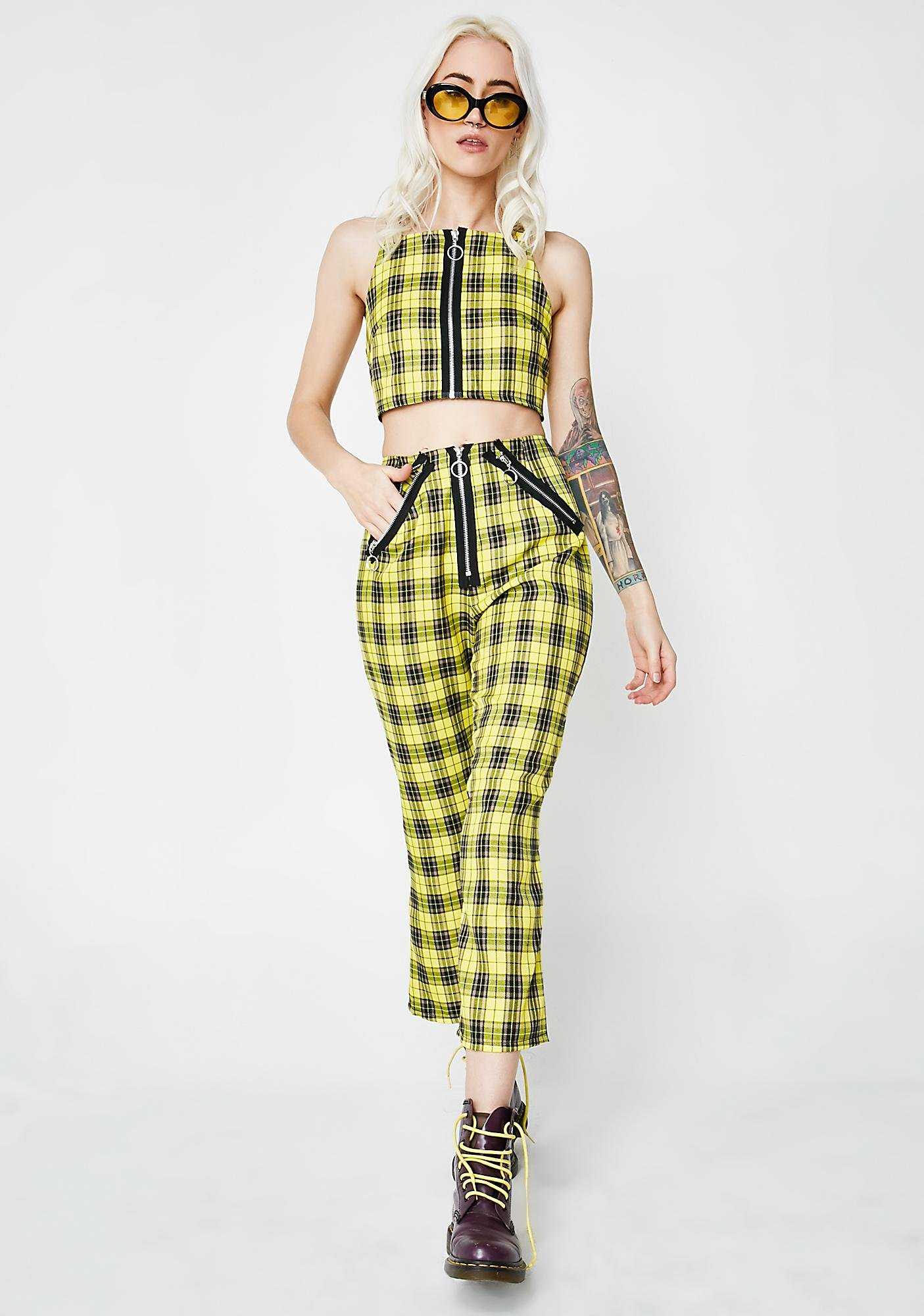 The Ragged Priest Tartan Jinx Pants