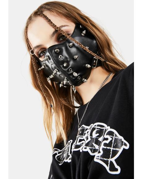 Fully Studded Face Mask