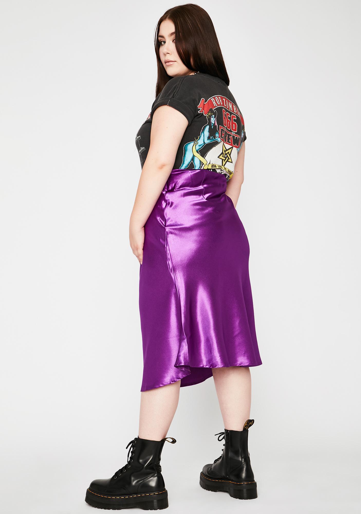 Gotta Look The Part Midi Skirt