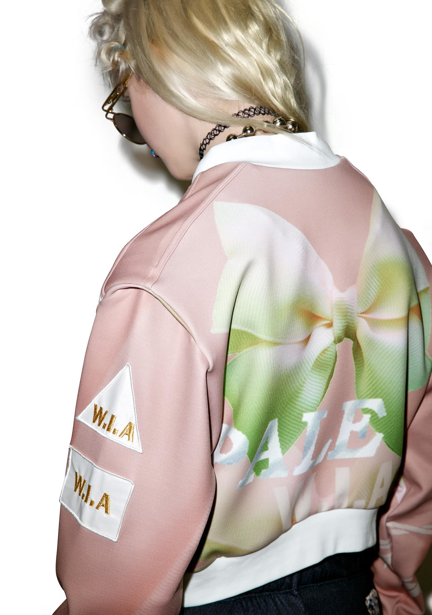 W.I.A Pale Cropped Bomber
