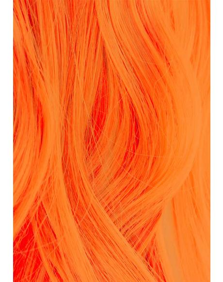 UV Reactive 320 Neon Orange Hair Dye