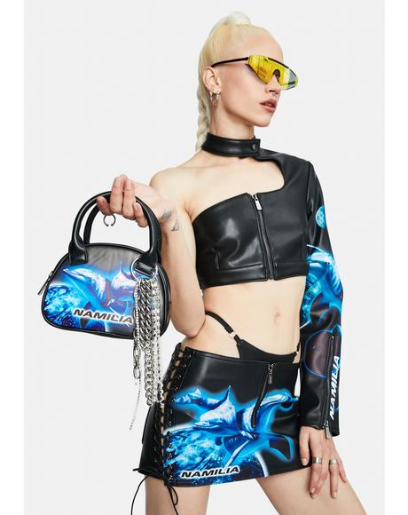 Cyber Dolphin Mini Bag