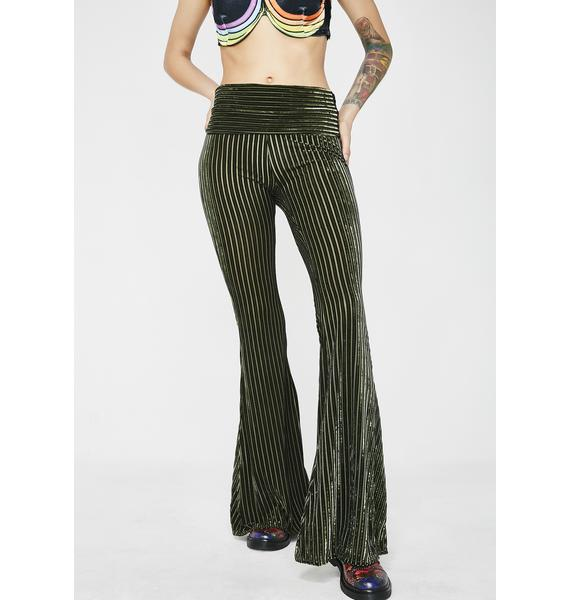 Shakti Chic Velvet Bell Bottoms