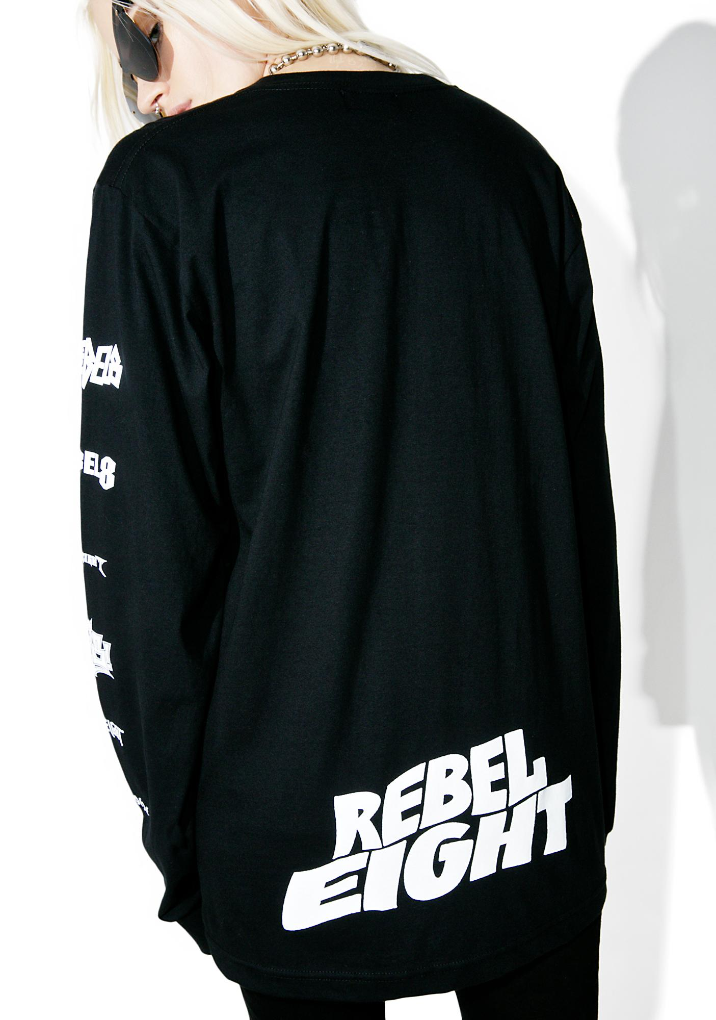 Rebel8 Skeletons Of Society Long Sleeve