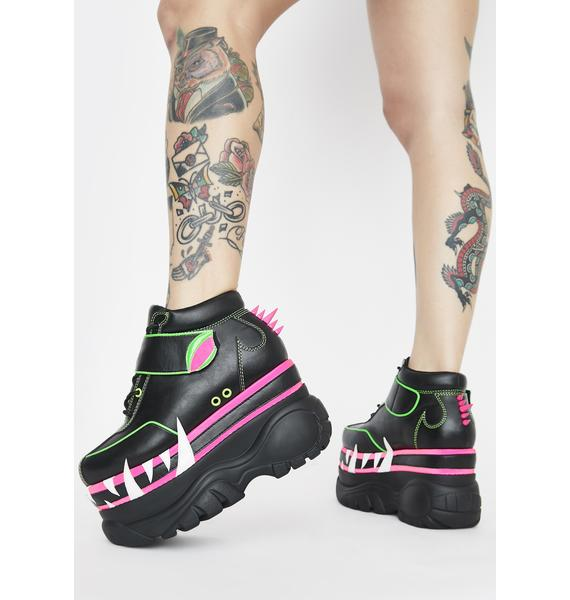 Club Exx Mega Bite Platform Sneakers