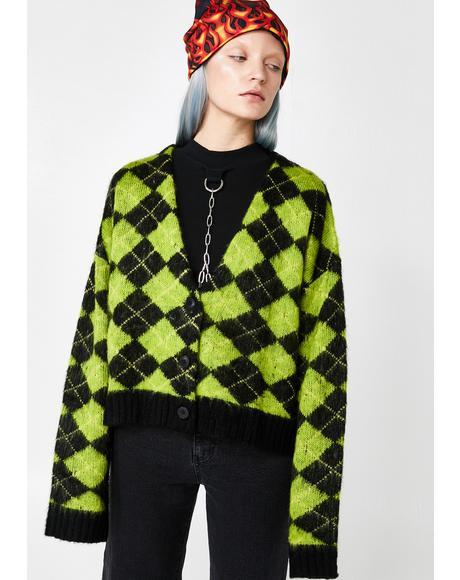 Nerd Knit Cardigan