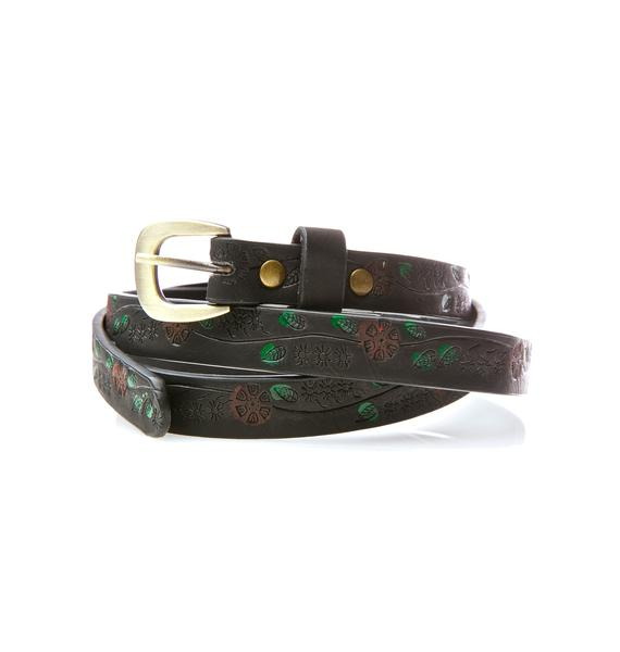 Bloomin' Babe Floral Belt