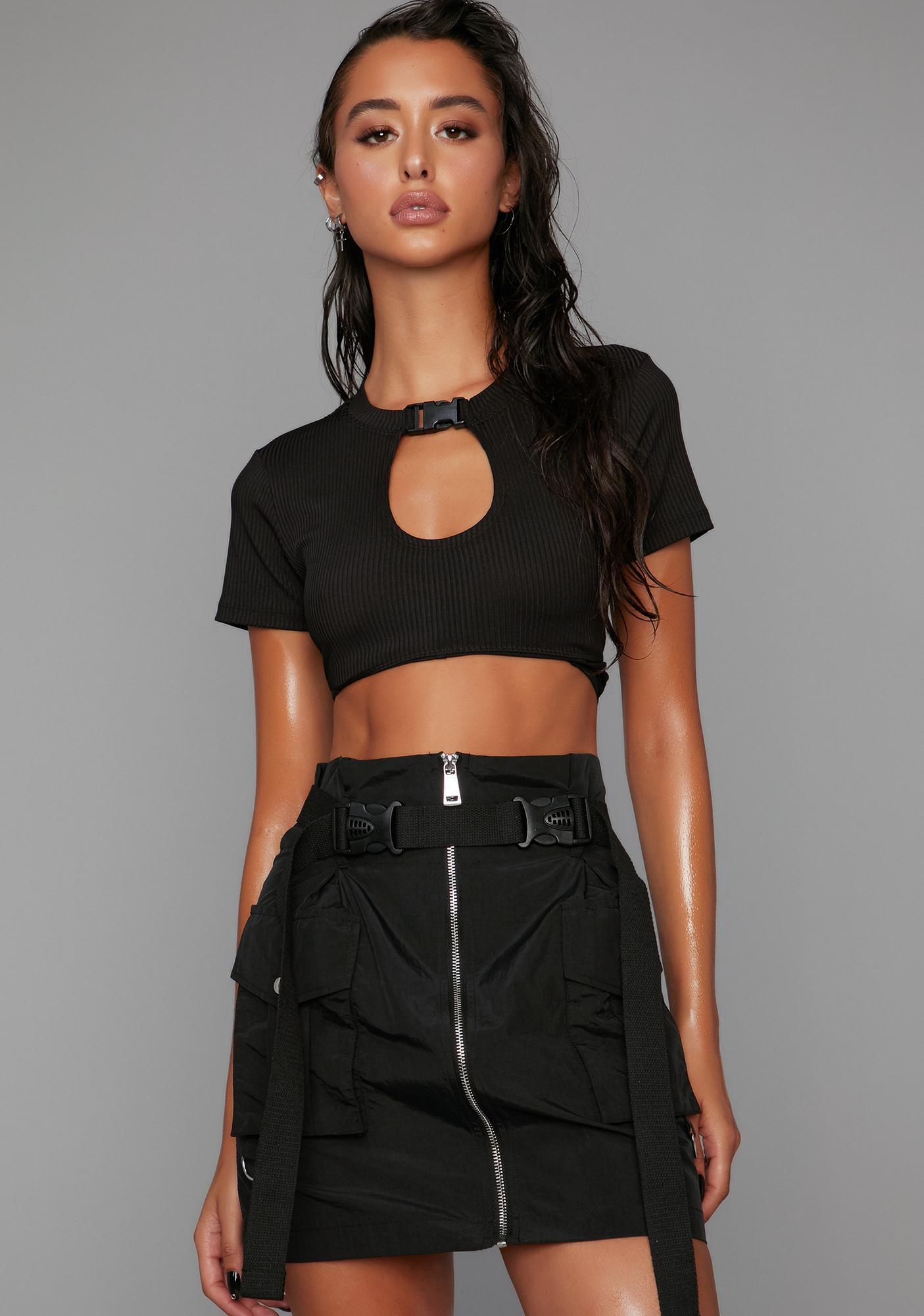 Poster Grl Take The Title Cargo Skirt