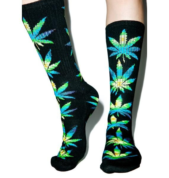 HUF Cabazon Plantlife Crew Socks