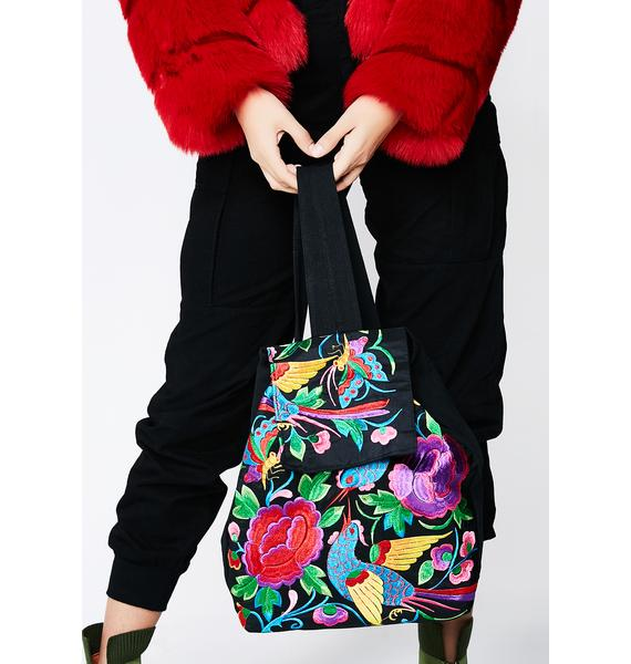 Dreamin' Of Paradise Floral Backpack