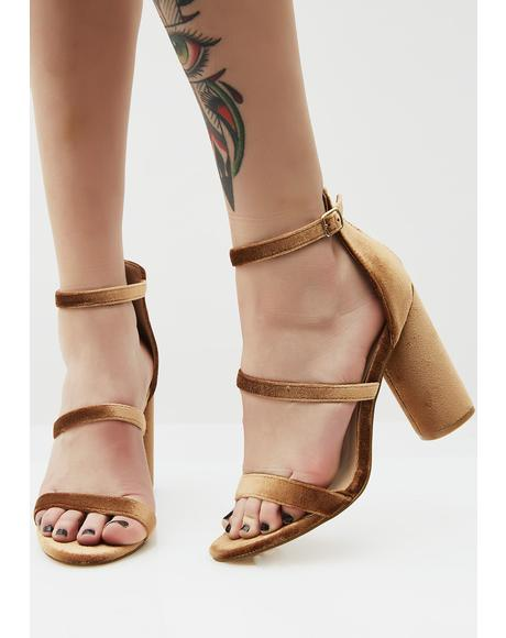 Teddy Triple Play Strappy Heels