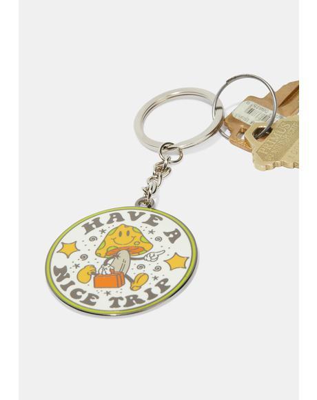 Have A Nice Trip Keychain