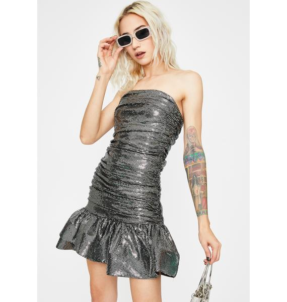 Kiki Riki Manic Mermaid Strapless Dress