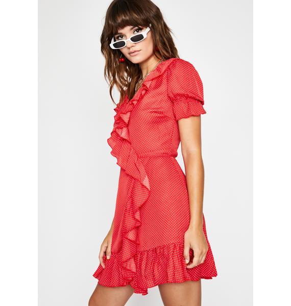 Swing Dance Polka Dot Dress